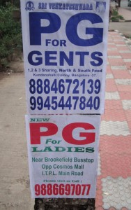 PG for gents, PG for ladies