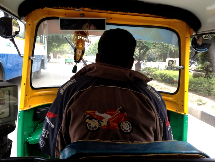 Madam - the view from the back seat in an auto