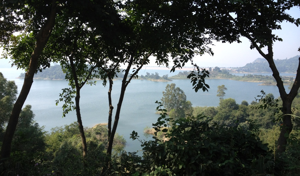 Madam : the view from the office at Basunti