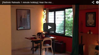Video : 1 minute holiday : At home to the sound of the monsoon