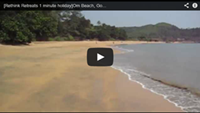 Video : 1 minute holiday : Om Beach. The most beautiful beach in India?