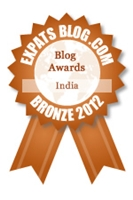 Bronze at the Expat Blog Awards 2012