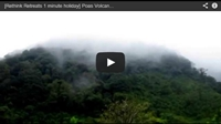 Video : 1 minute holiday : In the shadow of the volcano : clouds drift across Poas