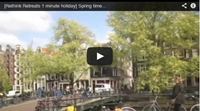 Video : 1 minute holiday : Spring in Amsterdam
