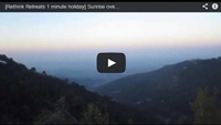 Video : 1 minute holiday : Sunrise over the Dalai Lama's Temple