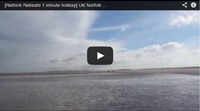 Video : 1 minute holiday : Windy walk on the beach in the Norfolk fens