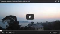 Video : 1 minute holiday : Dawn at Basunti : What I was doing a year ago: