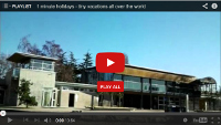 Video: 1 minute holiday: Kits Beach Vancouver