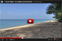 Video : 1 minute holiday : Mai Khao Beach, Phuket, India