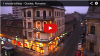 Video : 1 minute holiday : Oradea, Romania