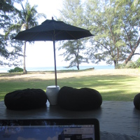 The view from the office : 13 Jan : Phuket