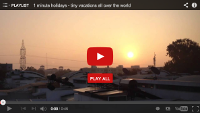 Video : 1 minute holiday : Dawn in Bangalore at Rethink Central