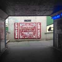 Signage Sunday: Optimistic light at the end of the tunnel
