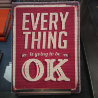 Stationary Sunday: Everything is going to be… OK