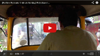 Video: 1 minute holiday: Rickshaw ride at Hampi Bazaar