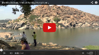 Video: 1 minute holiday: The river at Hampi