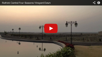 Video: 1 minute holiday: Dawn in Pune at the Four Seasons Vineyard