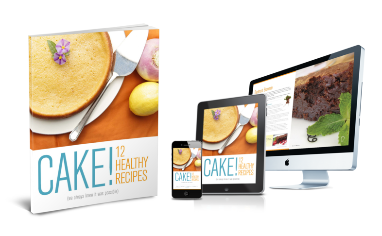 Cake! 12 healthy recipes - ebook